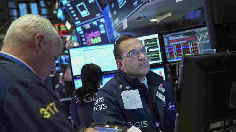 Stocks Start The Week With A Plunge, Dragged Down By Tech Shares