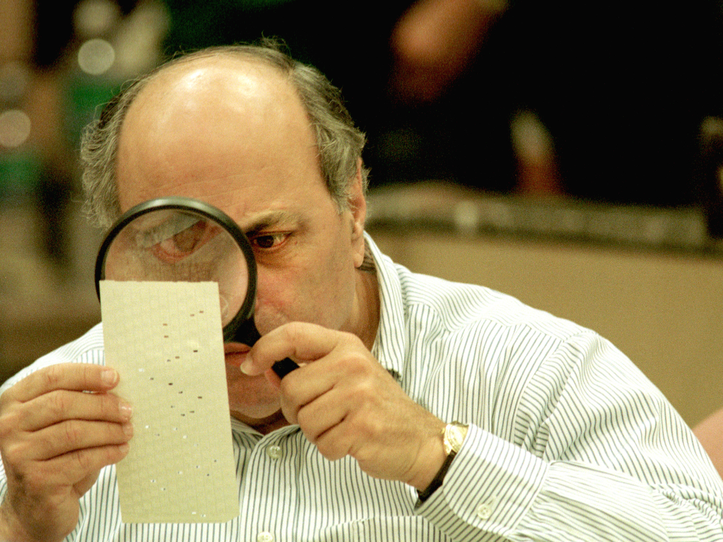 The Florida Recount Of 2000: A Nightmare That Goes On Haunting : NPR