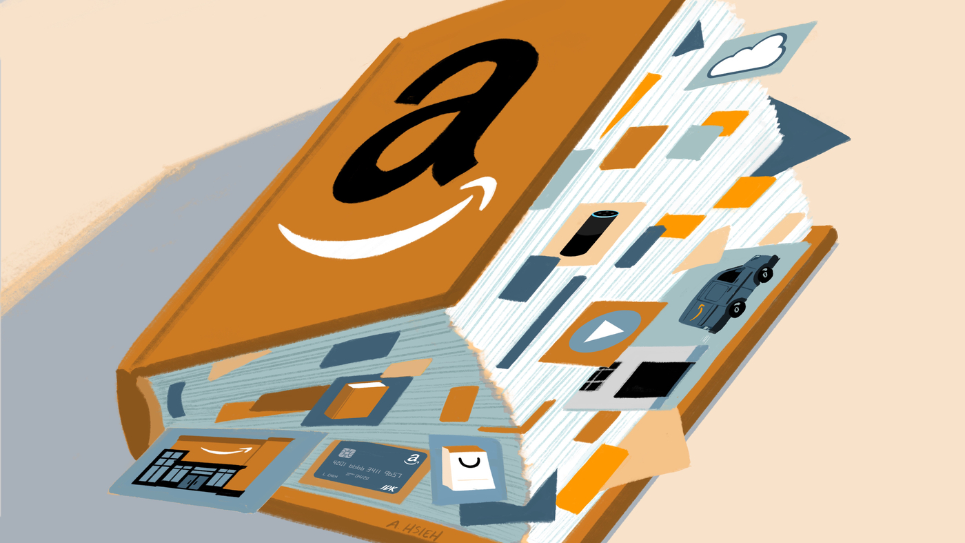 How Big Is Amazon Its Many Businesses In One Chart Npr