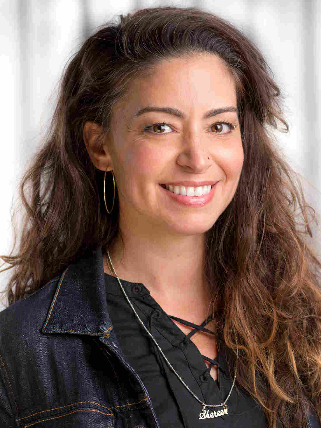 Shereen Meraji at NPR West in Culver City, California, 2018