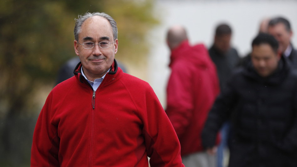 U.S. Rep. Bruce Poliquin, R-Maine, has filed a lawsuit to overturn Maine's ranked-choice voting system. Votes are still being counted in Poliquin's race, but it's possible he will lose a recount under the recently approved system. (Robert F. Bukaty/AP)