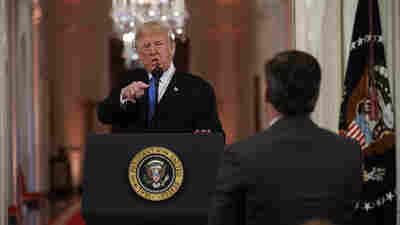 CNN Sues Trump Administration To Restore Jim Acosta's Press Credentials