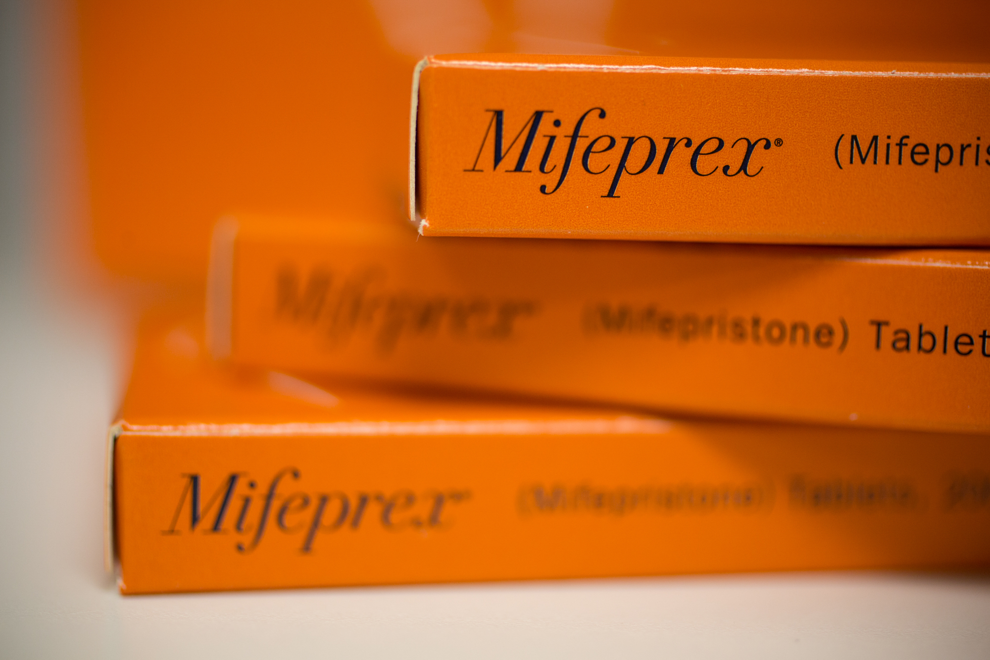 Mifepristone, sold under the brand name Mifeprex, causes a woman to have what's essentially a very heavy period.