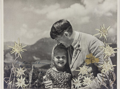 Photo Of Hitler Posing With A Girl Who Had A Jewish Grandmother Auctioned For $11K