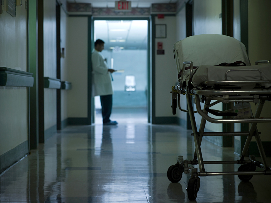 Clinicians and first responders who care for victims of gun violence can suffer what's called vicarious trauma. (Image Source/Getty Images)