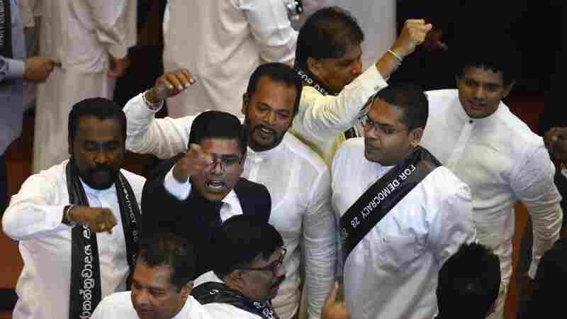 Sri Lanka's Newly Appointed Prime Minister Ousted In No-Confidence Motion