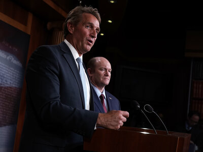 Flake Pledges To Block Committee Votes On Judges — Until Mueller Bill On Senate Floor