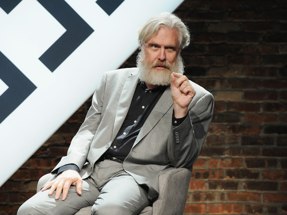 """Everything is private information, stored on your computer or a computer you designate,"" says George Church, genetics professor at Harvard Medical School, about the approach of Nebula Genomics. (Craig Barritt/Getty Images for The New Yorker)"