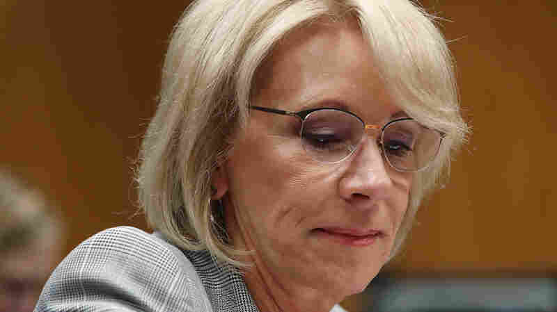 Betsy DeVos Sued For Failing To Implement Automatic Student Loan Forgiveness