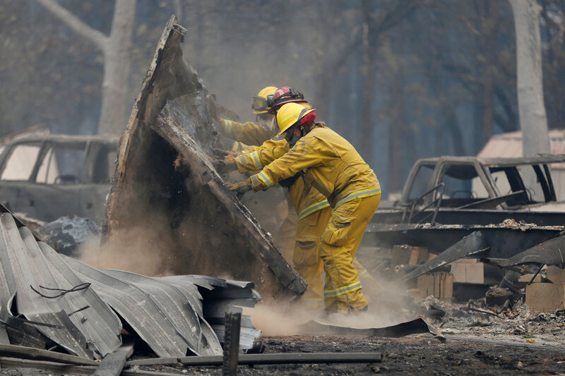 More Deaths Are Reported In California Fires : NPR
