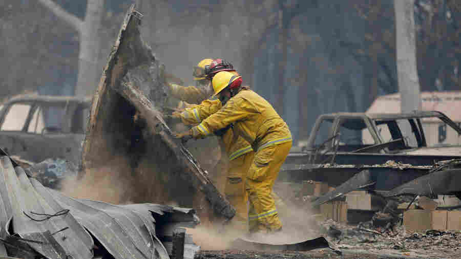More Deaths Are Reported In California Fires