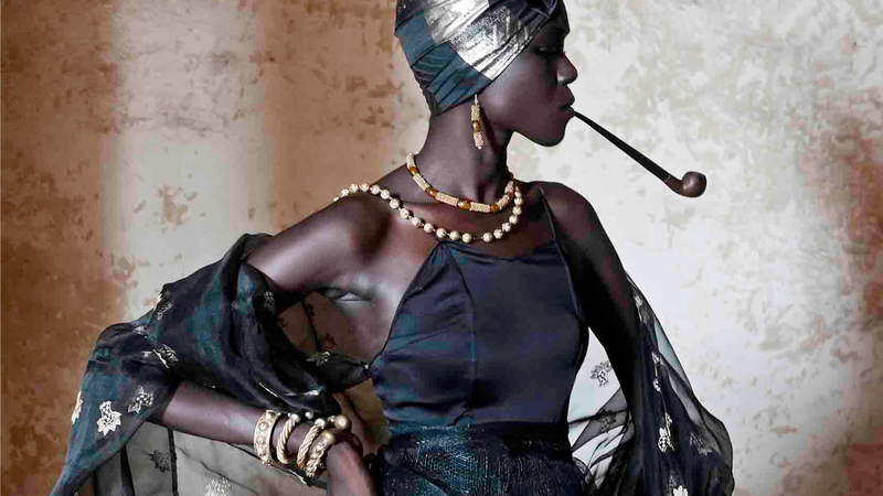 Senegal's Stunning Gold Jewelry ... And The Controversial Women Who Wore It