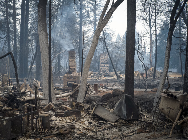 Camp Fire Missing-Persons List Grows To More Than 300 Names : NPR