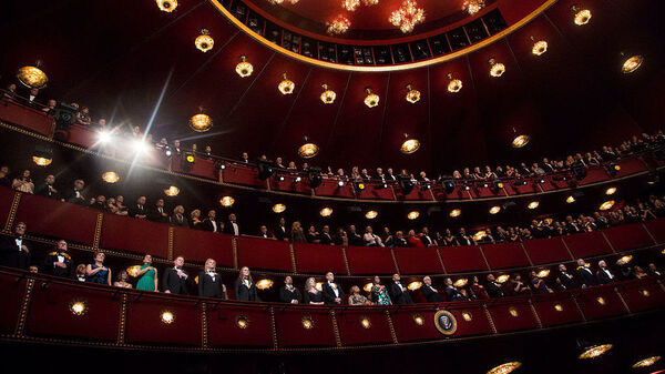 The Kennedy Center Honors ceremony in 2016. It was the last time a U.S. president — Barack Obama — attended the awards ceremony.