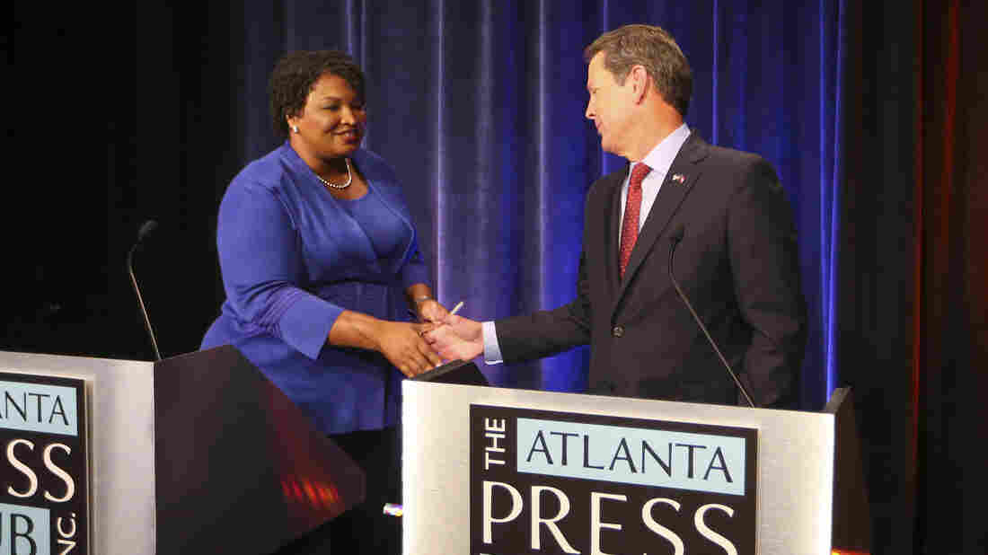 Stacey Abrams calls Brian Kemp the 'victor' in Georgia governor's race