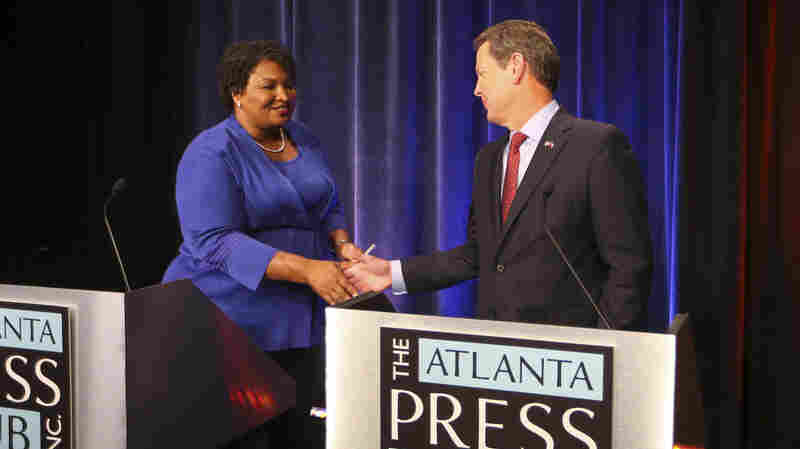 Georgia's Stacey Abrams Admits Defeat, Says Kemp Used 'Deliberate' Suppression To Win