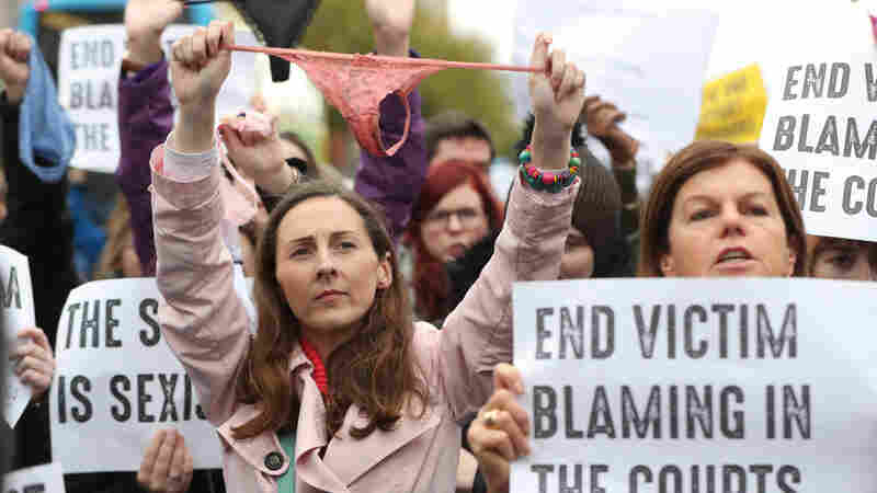 #ThisIsNotConsent: Protests In Ireland After Thong Underwear Cited In Rape Trial