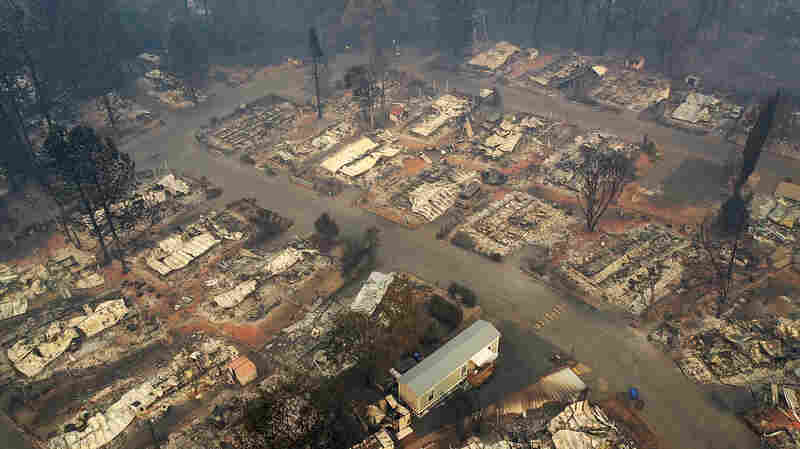More Than 1,000 People Now Listed As Missing In California's Deadliest Fire