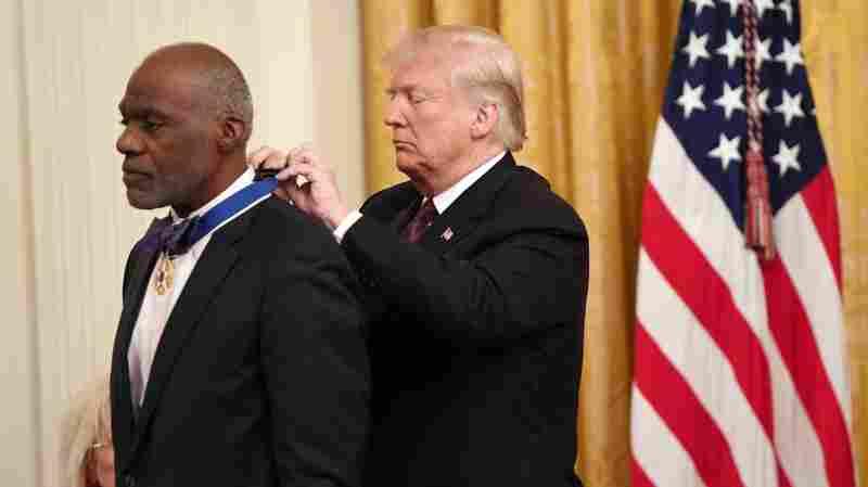 Viva Las Vegas: Elvis, Adelson Honored With Presidential Medal Of Freedom
