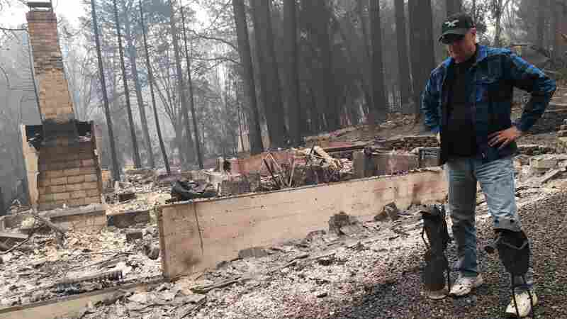 Separated By Fire, Man Launches Wrenching Search For His Wife