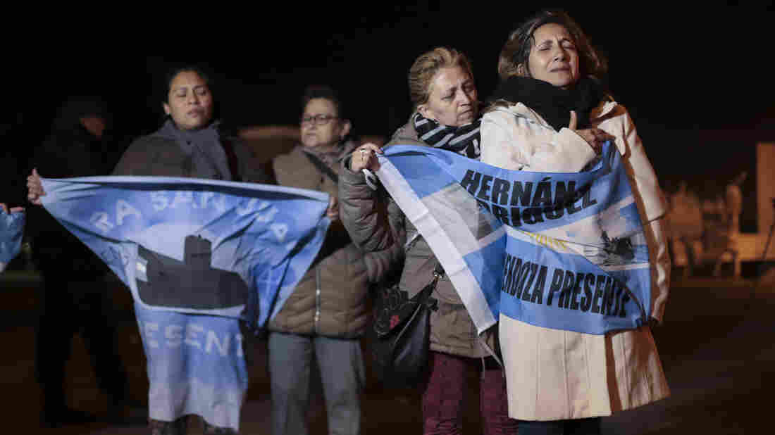 Wreckage of Argentine submarine found a year after disappearing in Atlantic