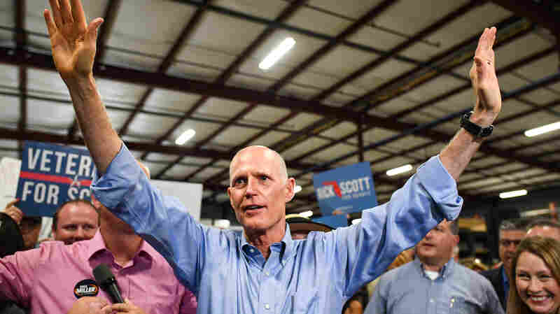 Republican Rick Scott Wins Florida Senate Seat Over Incumbent Bill Nelson