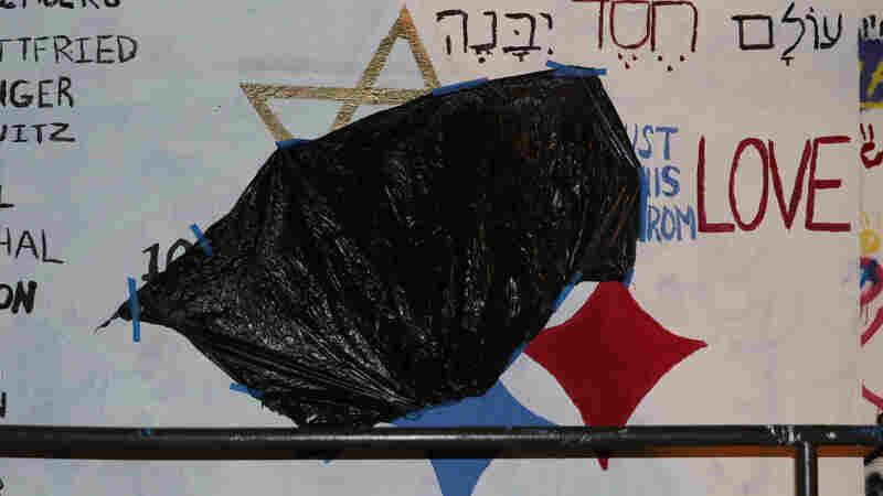 Swastika Defaces Duke University Mural Honoring Synagogue Shooting Victims