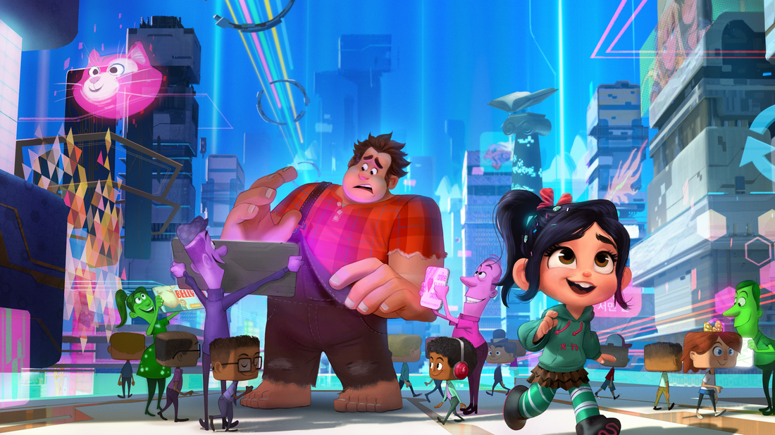 Review: 'Ralph Breaks The Internet' Is About The Way We ...