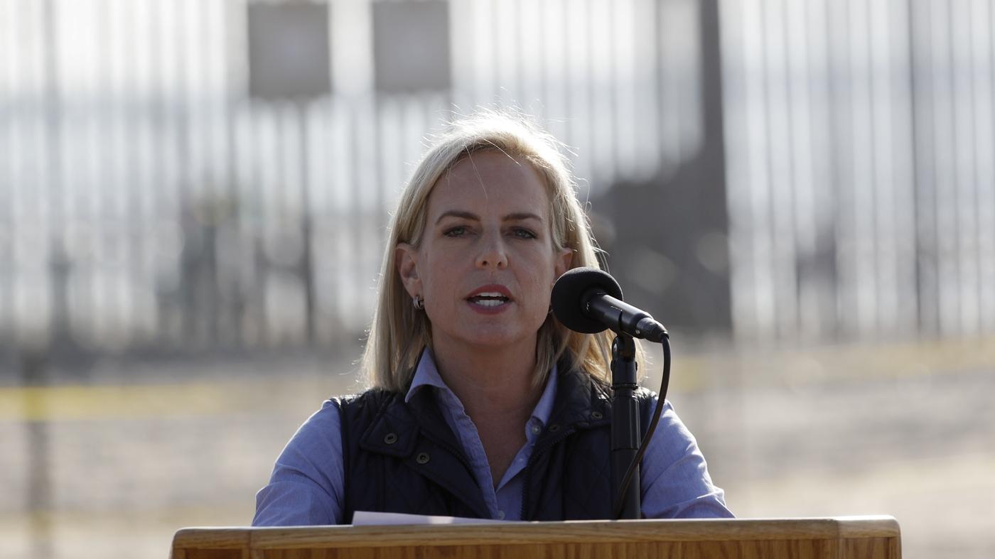 DHS Chief Visits U.S.-Mexico Border, Defends Administration's Asylum Rules - NPR