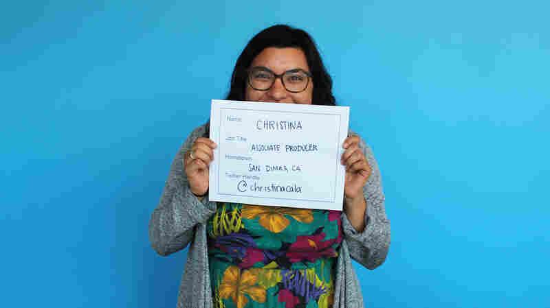 Faces Of NPR: Christina Cala