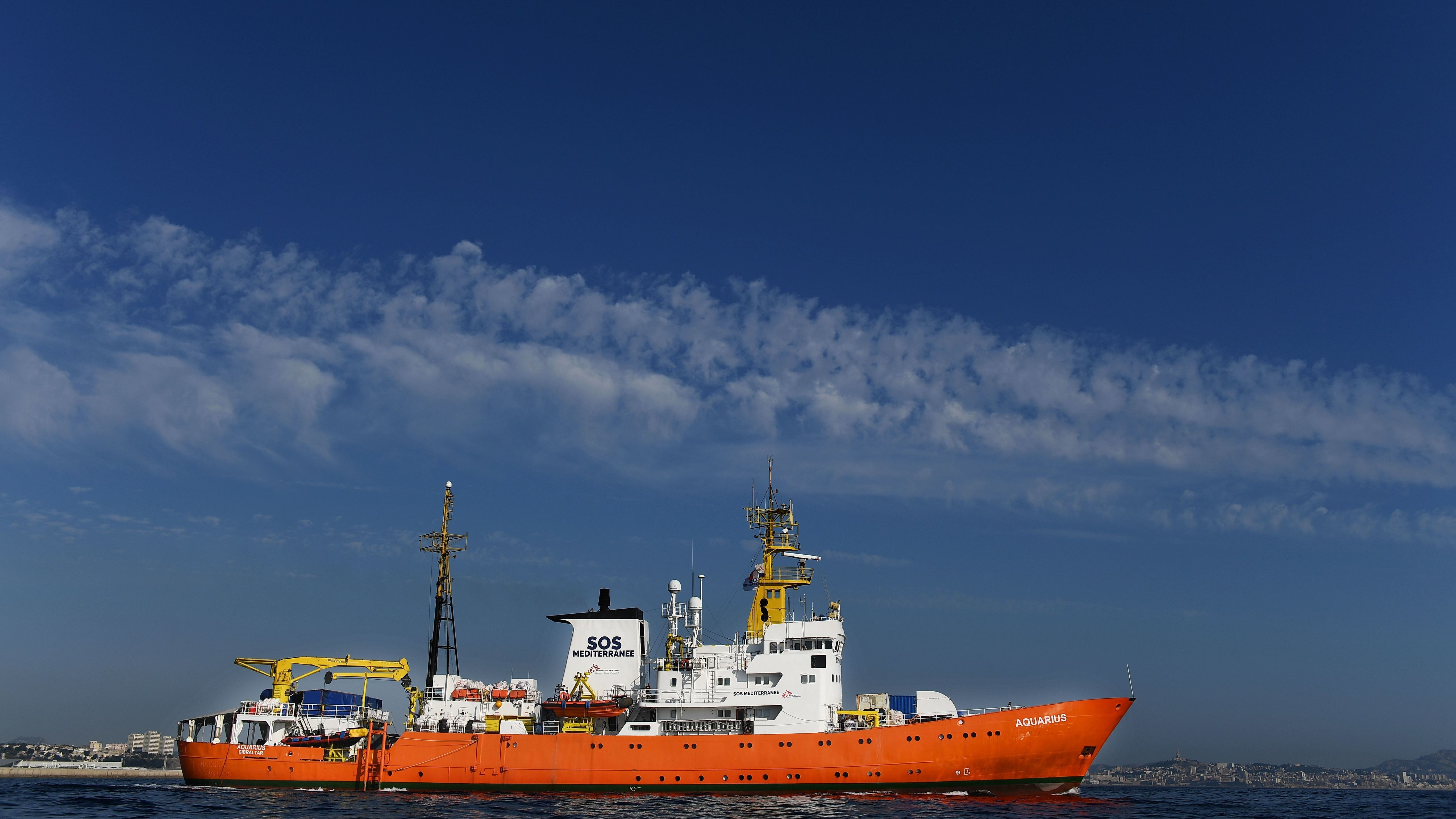 Italy Wants Rescue Ship Seized, Accuses Doctors Without Borders Of Illegal Dumping