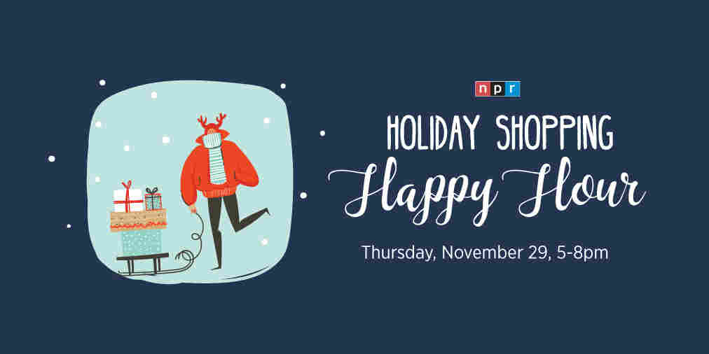 Holiday Shopping Happy Hour