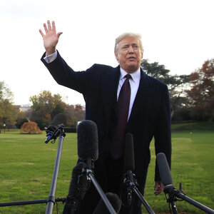 'Maybe He Did, Maybe He Didn't': Trump Defends Saudis, Downplays U.S. Intel