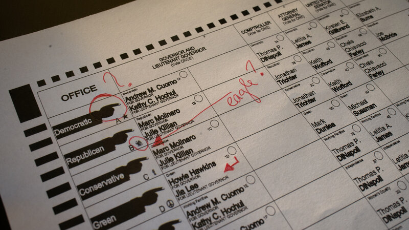 why are so many election ballots confusing npr