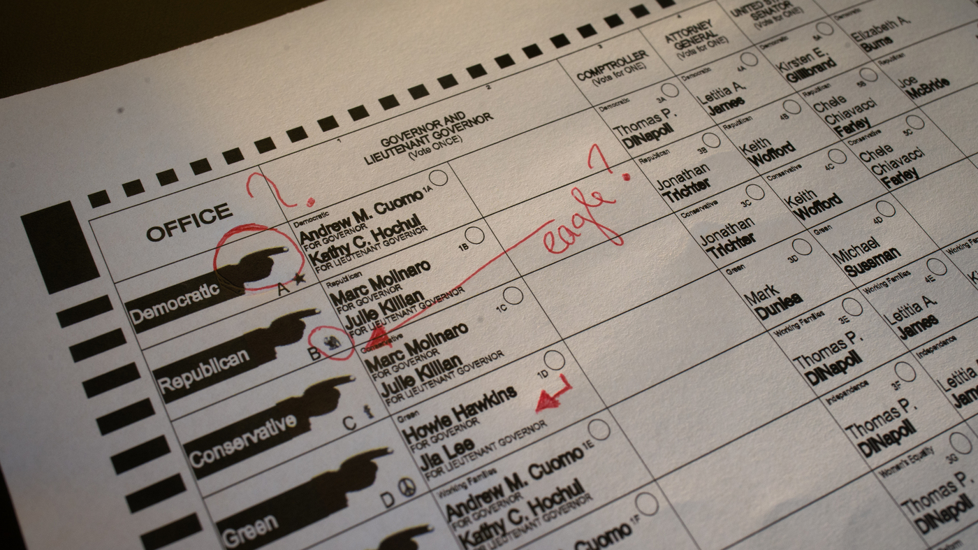 Why Are So Many Election Ballots Confusing? : NPR