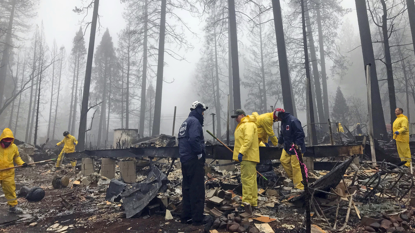 Northern California Camp Fire Contained : NPR