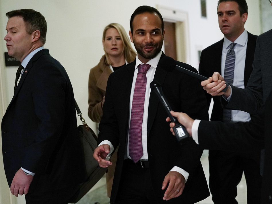 George Papadopoulos arrives at a hearing before the House Judiciary and Oversight Committee Oct. 25, 2018. (Alex Wong/Getty Images)