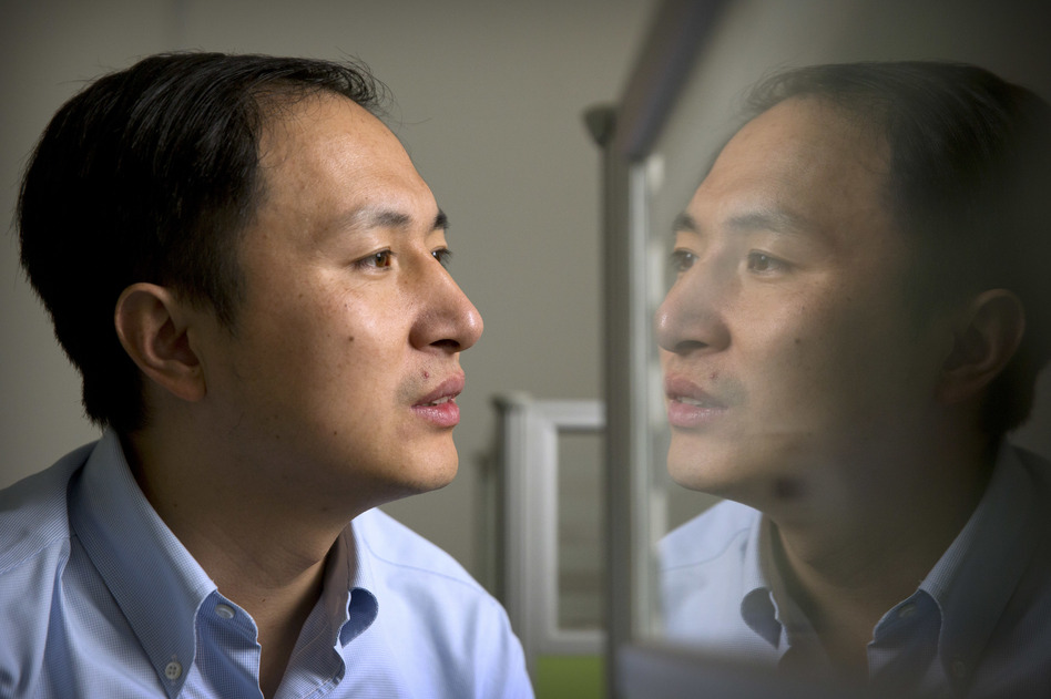 Genetics researcher He Jiankui said his lab considered ethical issues before deciding to proceed with DNA editing of human embryos to create twin girls with a modification to reduce their risk of HIV infection. Critics say the experiment was premature.