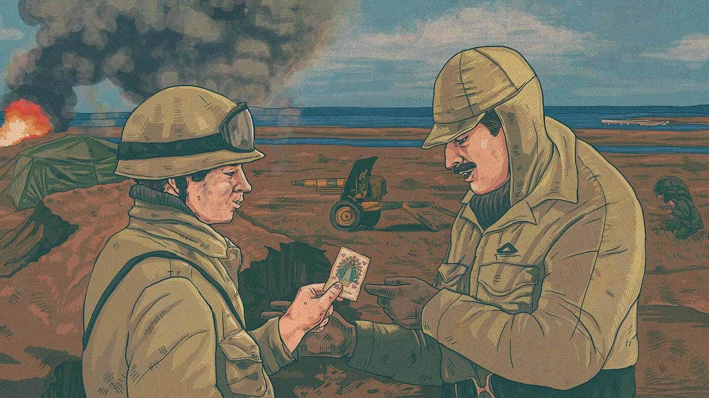 El soldado y el teniente