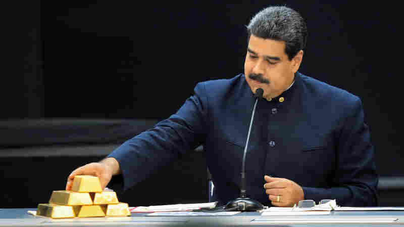 Venezuela Trudges Ahead With Risky 'Gold Rush' Despite Sanctions