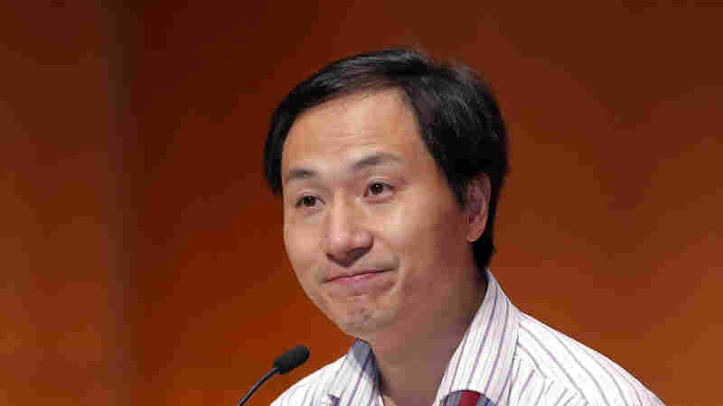 Facing Backlash, Chinese Scientist Defends Gene-Editing Research On Babies