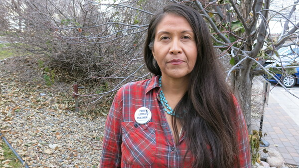 Leoyla Cowboy was among the many indigenous people from around the world who came to North Dakota to participate in the Dakota Access Pipeline protests.
