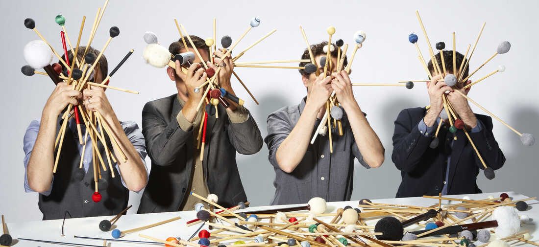 Third Coast Percussion's new album, out Feb. 9, is called Paddle to the Sea.