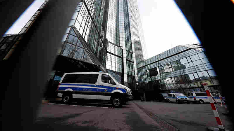 Deutsche Bank Offices Are Raided In Money Laundering Probe