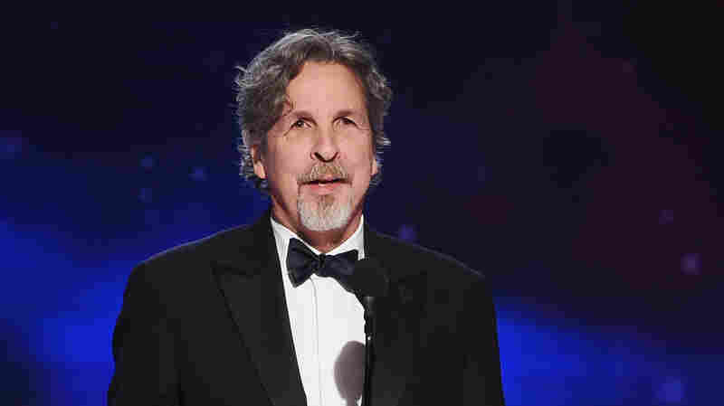Peter Farrelly appears onstage at the 2018 British Academy Britannia Awards on Oct. 26, 2018 in Beverly Hills, Calif.