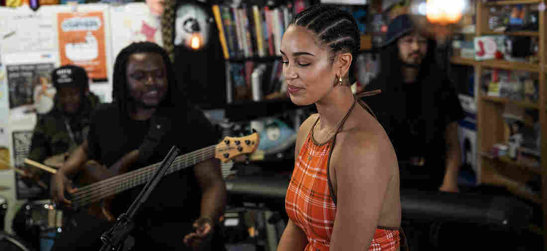 Jorja Smith performs a Tiny Desk Concert on May 14, 2018.