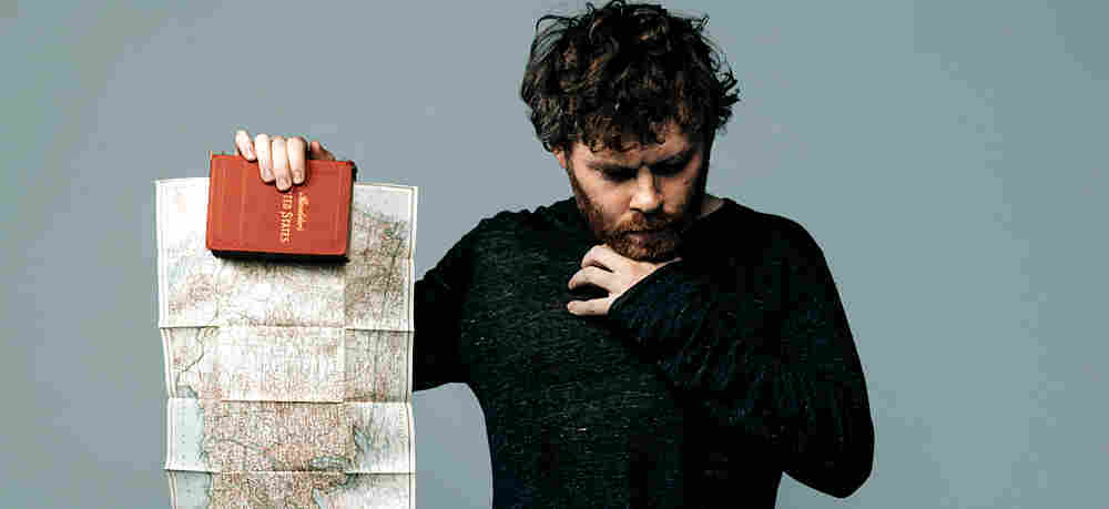 Gabriel Kahane's new album, Book of Travelers, was conceived on a two-week train ride across America.