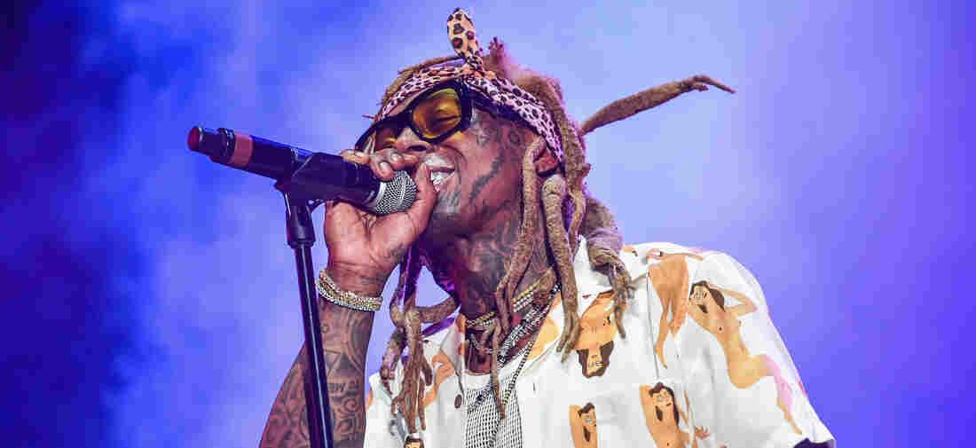 Lil Wayne performs during Lil WeezyAna at Champions Square on August 25, 2018 in New Orleans, Louisiana.