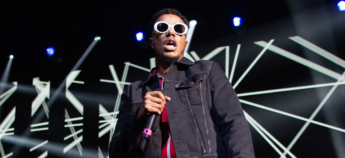 AJ Tracey performs at UK Grime and Hip Hop event, the KA & GRM Daily RATED AWARDS 2018 at Eventim Apollo on September 4, 2018 in London, England.