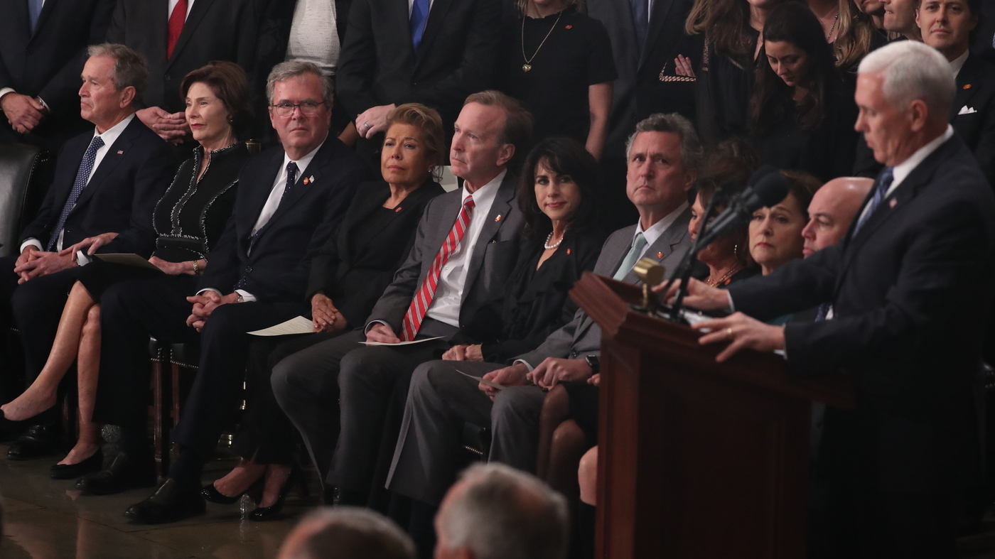Who S Who In The Bush Family At Wednesday S State Funeral